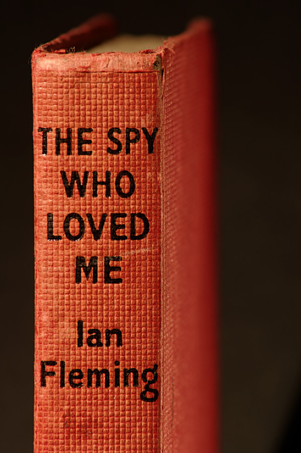 The Spy Who Loved Me spine