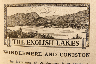 The English Lakes Windermere and Coniston