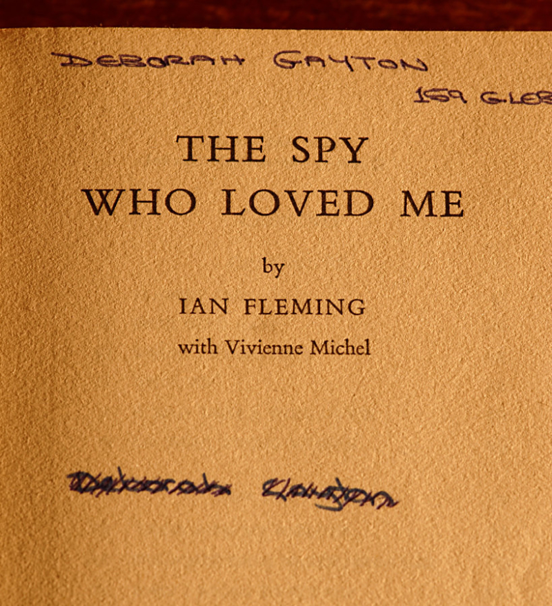 The Spy Who Loved Me title page