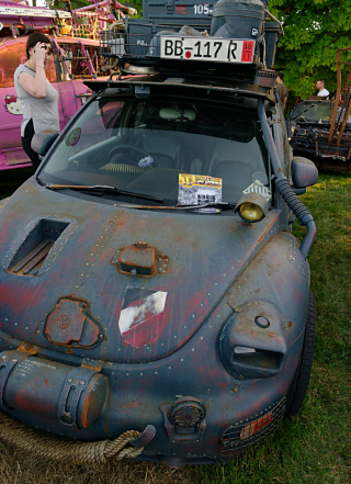 VW Beetle Rat