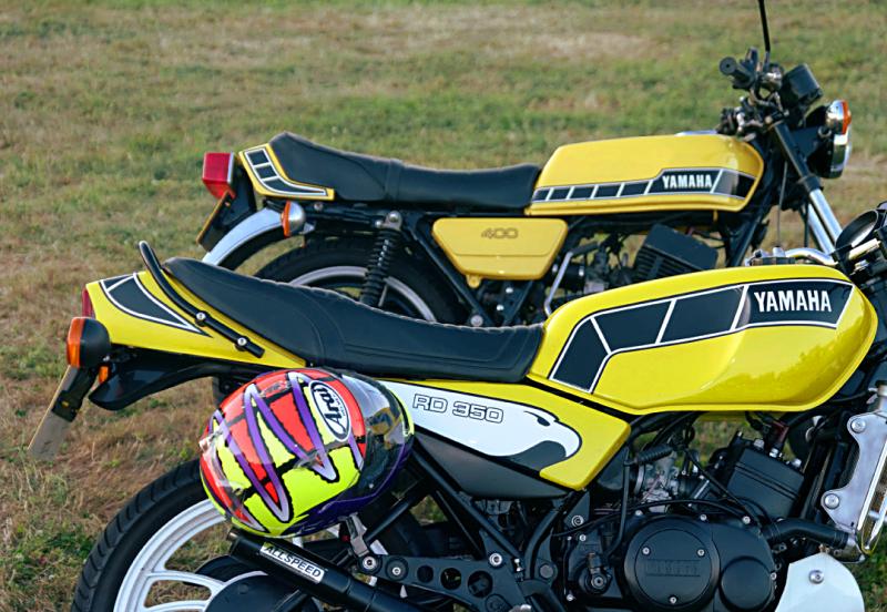 Yamaha 2-stroke twins