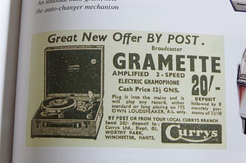 Just For Kicks gramophone