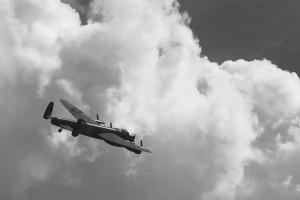 Lancaster over Stony Stratford