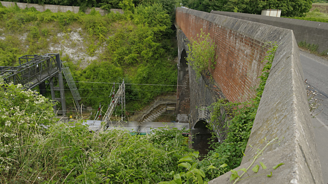 Tring Railway Cutting at folly Bridge