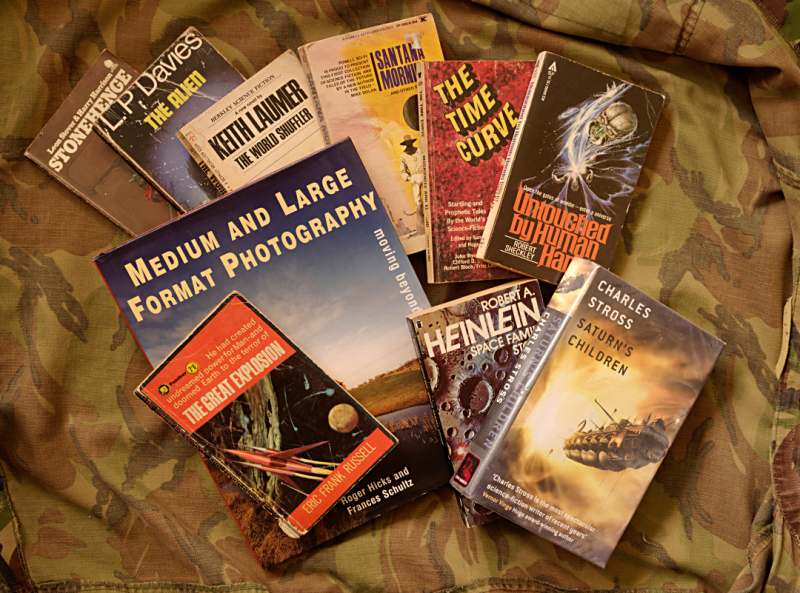 Used book haul