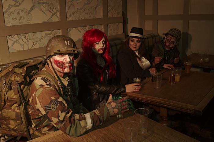 Stony Stratford Zombie Pub Crawl 09