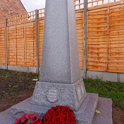 Steeple Claydon war memorial