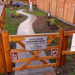 Steeple Claydon Memorial Garden