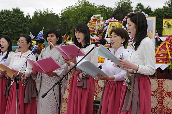 Japanese ladies choir