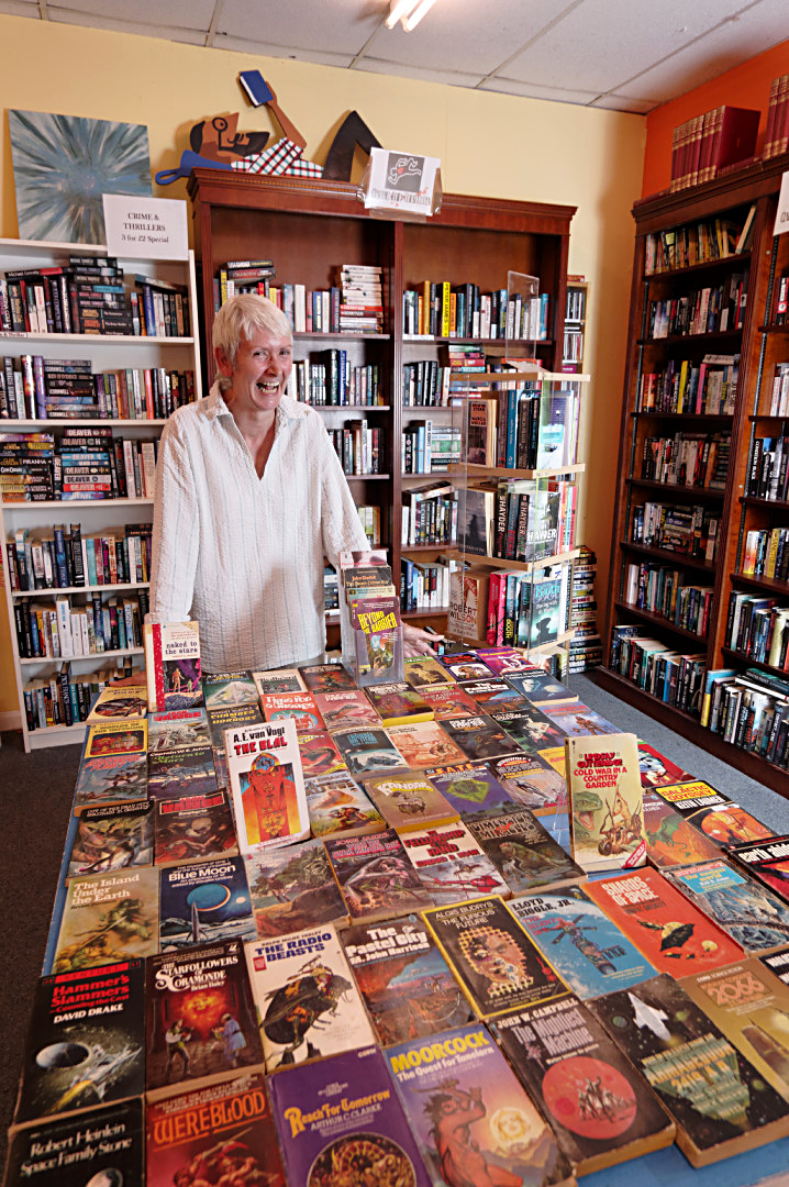 Wolverton Books manager