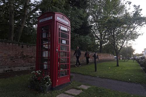 Gawcott phone box library