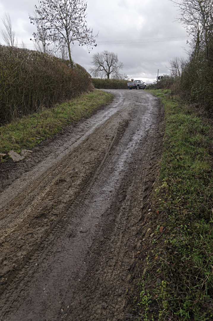 Roman road and Carters Lane  Bucks