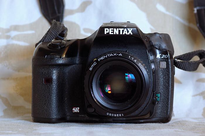 My own Pentax K20D