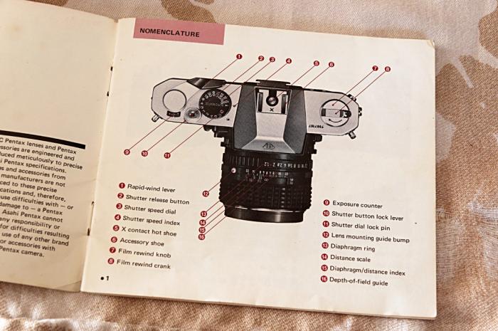 Pentax K2 manual