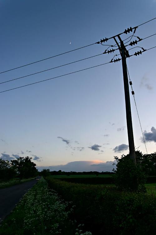 Calvert at dusk