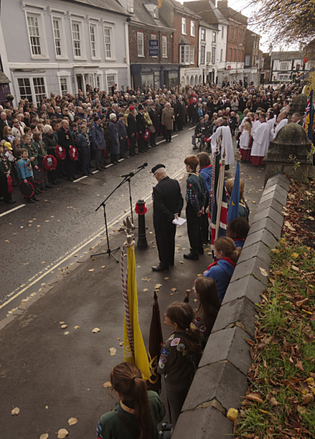 Winslow Remembrance Day 2018 09