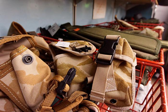 Castle's bag section