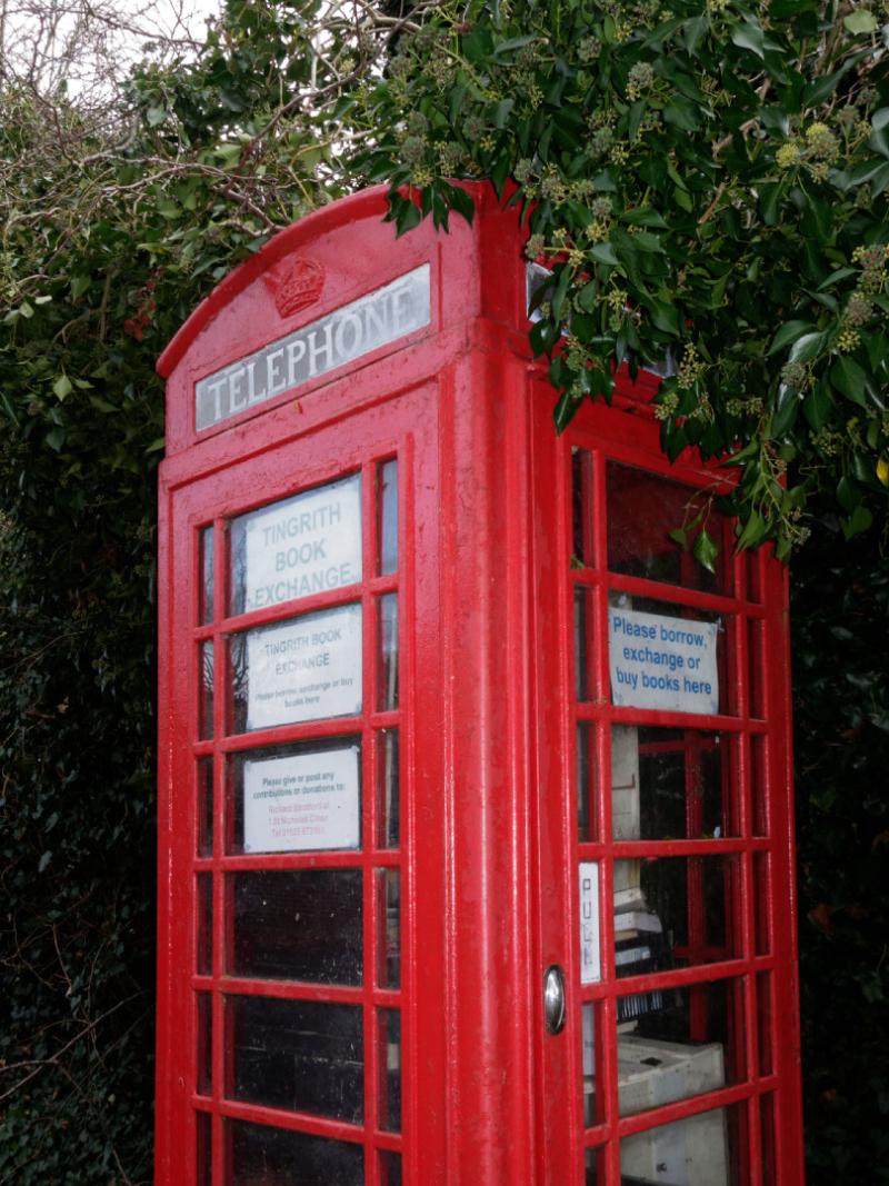 Tingrith type 6 phone box