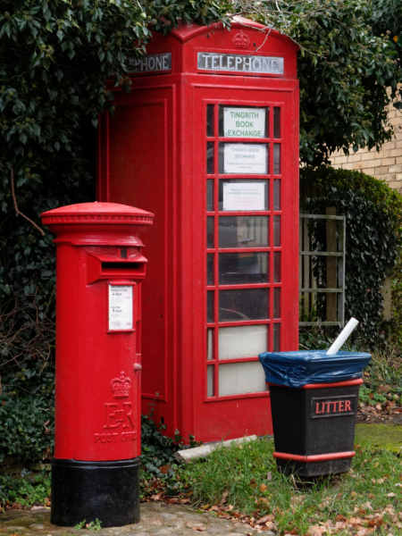 K6 phonebox and pillar box