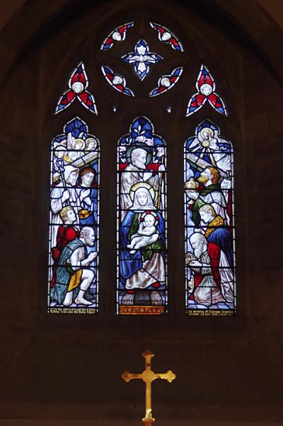 East Window  St Mary's  East Claydon