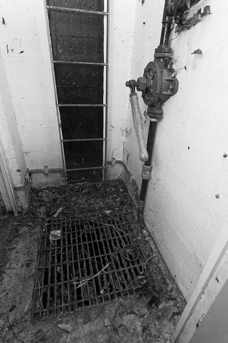 ROC post Bucks bottom of shaft