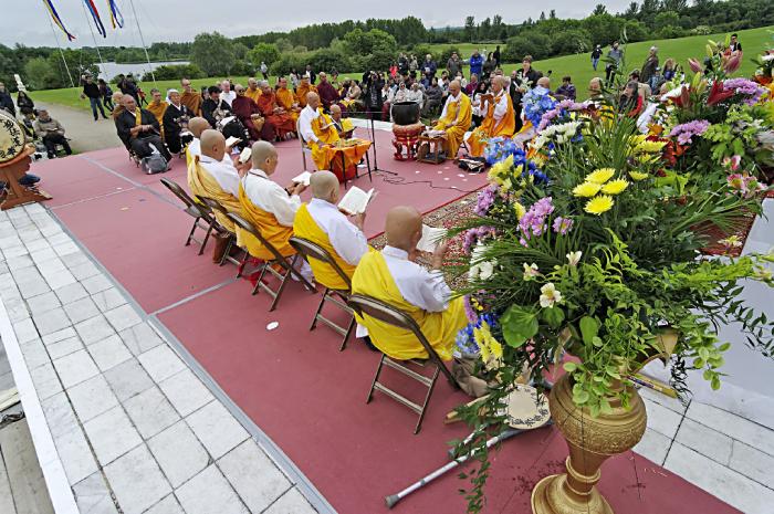 Peace Pagoda Ceremony  Milton Keynes