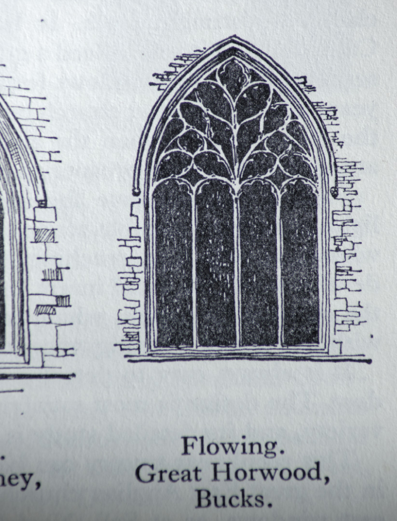 Flowing tracery  Great Horwood