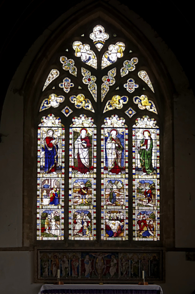 Great Horwood East window  stained glass