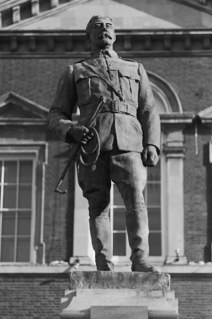 Statue of 3rd Baron Chesham  Aylesbury