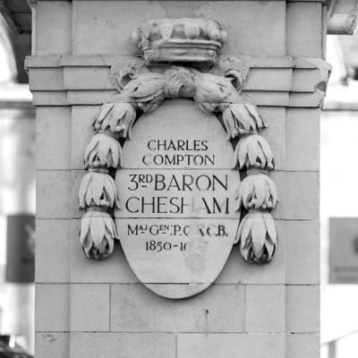 3rd Baron Chesham plinth