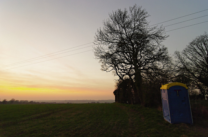 Portaloo Sunset