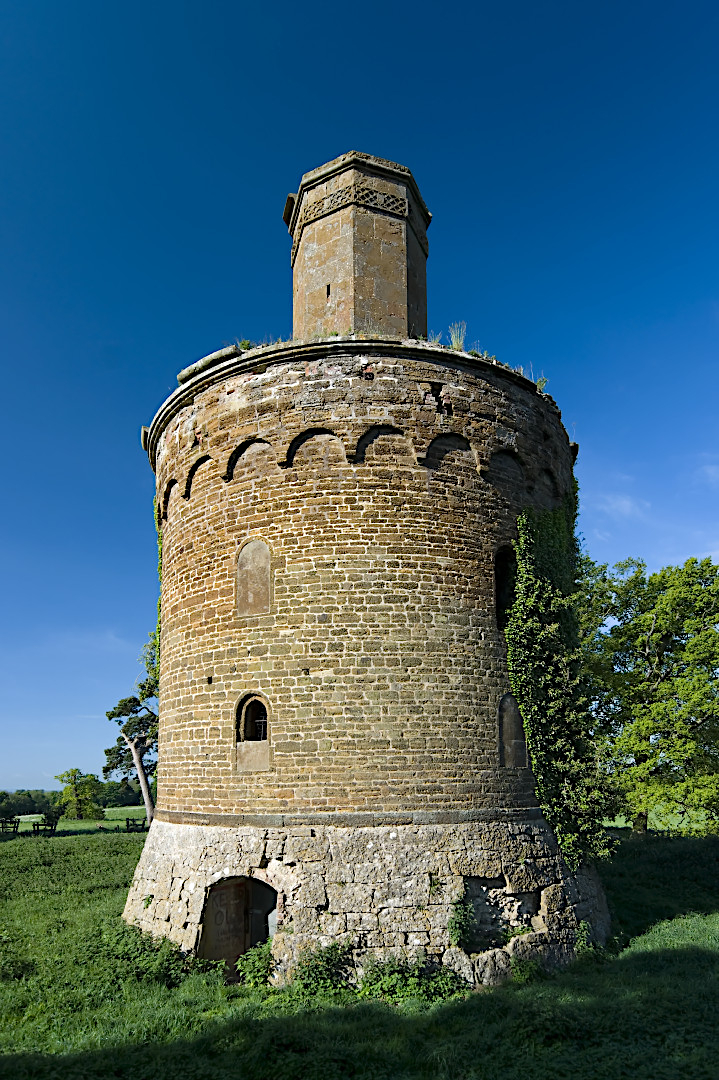 The Bourbon Tower  at Stowe