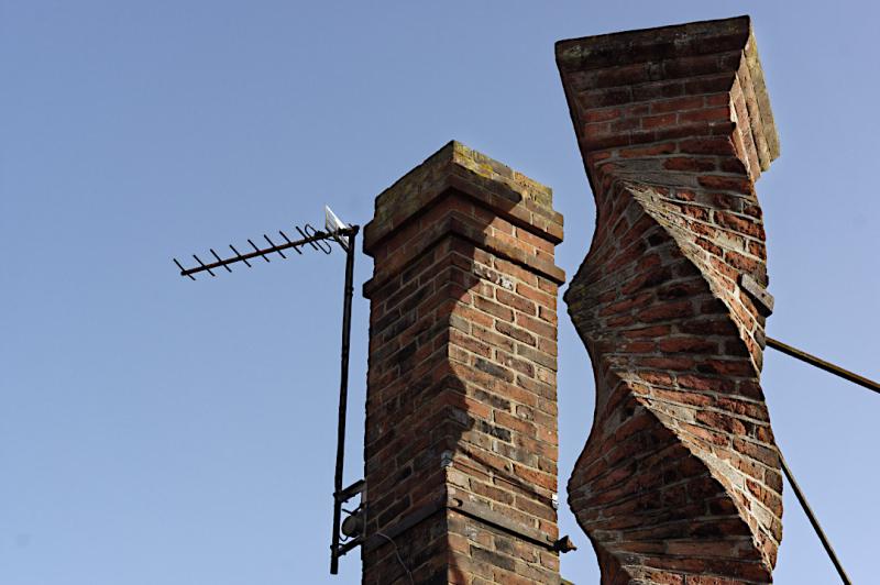 Twisted chimney  Buckingham