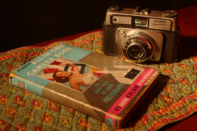Ilford Sportsman and All in One Camera Book