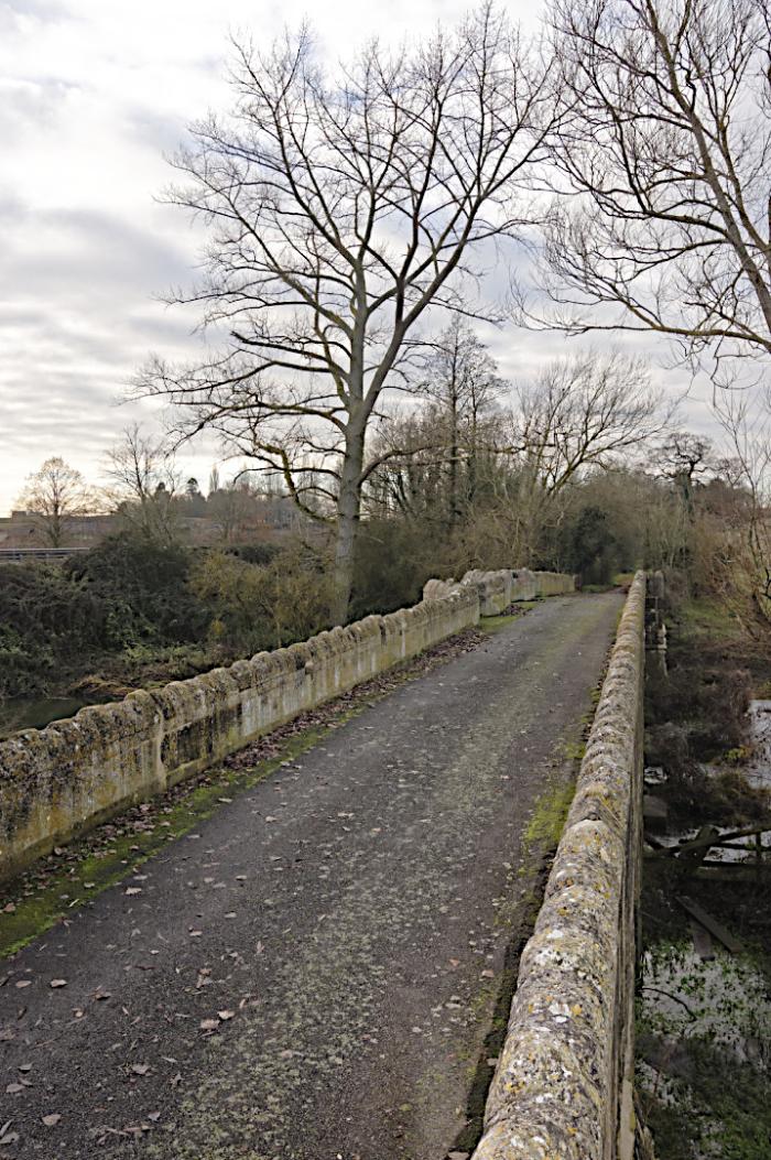 Causeway  Thornborough Bridge