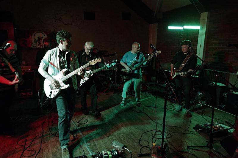 Five guitarists