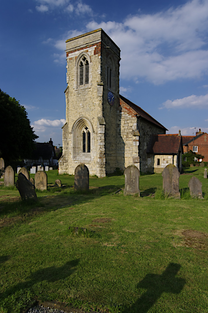 Cublington church  Bucks