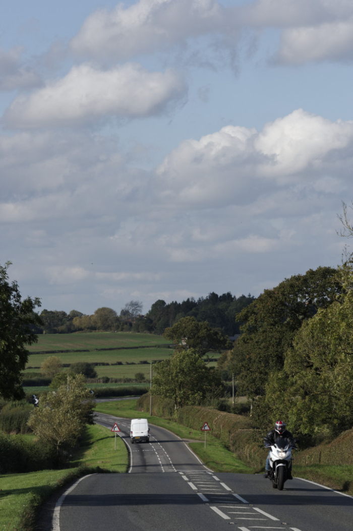 The A413 near Winslow