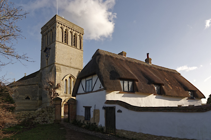 Church and Anchor Barn  Haddenham