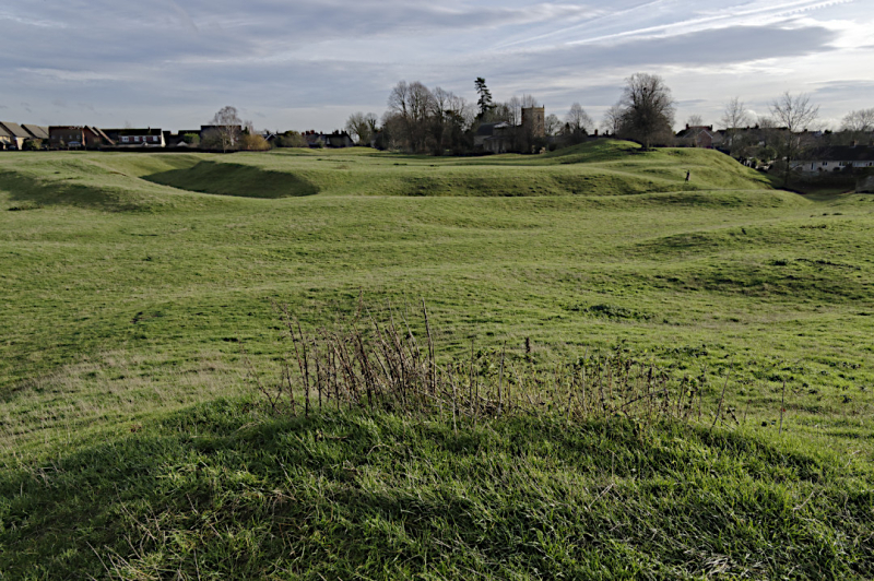 Castlethorpe's castle