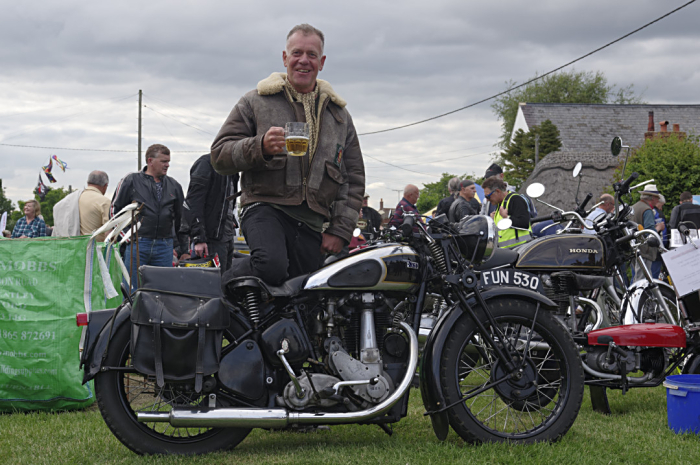 A man and his BSA
