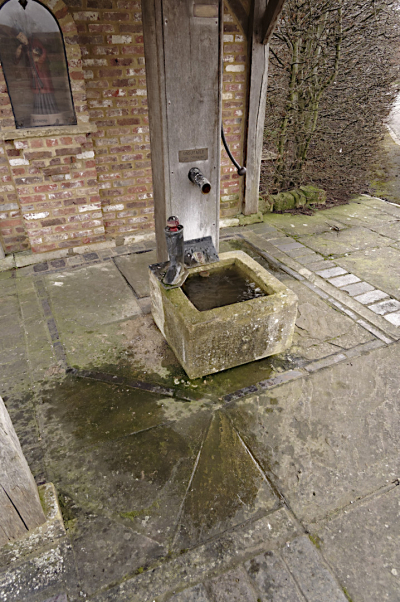 North Marston's holy well