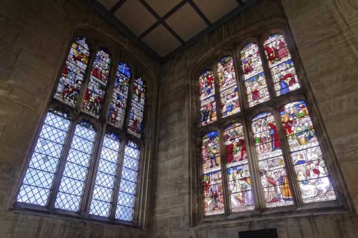 Perpendicular windows  Hillesden