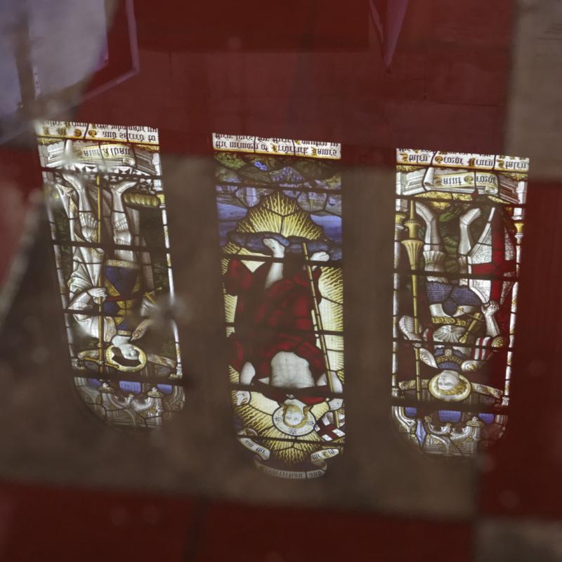 Hillesden church reflection
