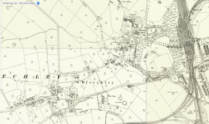 Bletchley village