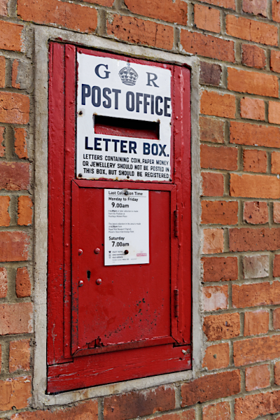 Ludlow post box  Olney