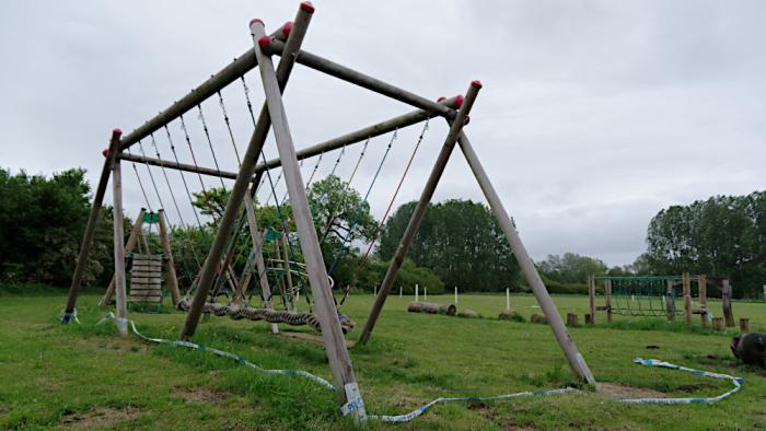 Closed playground