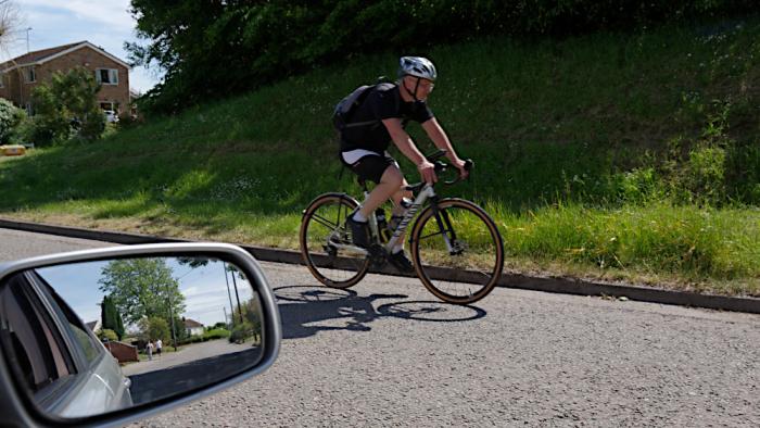 Lockdown cyclist