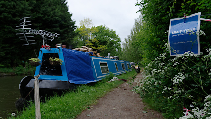 Covid and towpath