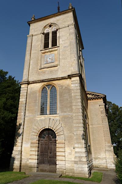 Gayhurst church tower